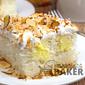 Toasted Almond Coconut Cream Poke Cake