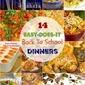 14 Kid-Pleasing School Night Dinners