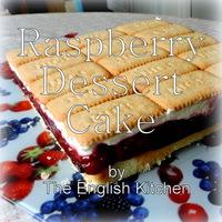 Raspberry Dessert Cake