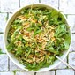 orzo, greens & pan-charred corn salad
