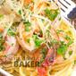 Garlicky Shrimp Scampi with Herb Pasta