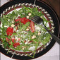 Arugula Salad with Strawberries and Grape Tomatoes