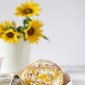 Baking   Mango Almond Roulade with almond whipped cream … making the most of the season