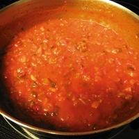 Garden Marinara Sauce with Spaghetti