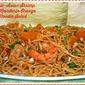 Fortune Asian Noodle Blogger Recipe Challenge Entry...Featuring Tropic-Asian Shrimp and Mandarin Orange Noodle Salad