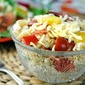 Gluten Free Caprese Pasta Salad {Giveaway: $50 VISA gift card & Freschetta® pizza coupons!}