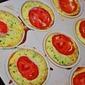 Zucchini Tomato Quiche Cupcake