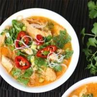 4 Ingredient Red Curry Chicken