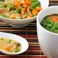 Quick & Easy Miso Soup with Rice & Vegetables