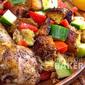Moroccan (Sumac) Chicken & Warm Bread Salad