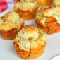 Parmesan Garlic Monkey Bread Muffins