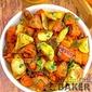 Maple Orange Glazed Roasted Carrots & Parsnips