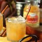 Pumpkin Spiced Apple Cider with Rum Cocktail