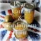 Pear, Vanilla & Cardamom Jam