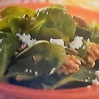 Spinach~Feta~Walnut Salad