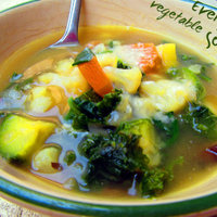 Everyday vegetable soup