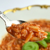 NONNA ROSA'S LEFTOVER MEAT SAUCE SOUP WITH ORZO PASTA