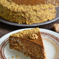 Easy Butter Pecan Cake (Cake Mix)