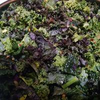Roasted Vegetable and Kale Salad