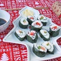 Sushi Christmas Leftovers Tree