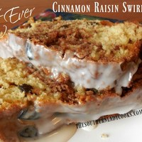 BEST EVER CINNAMON RAISIN SWIRL BREAD