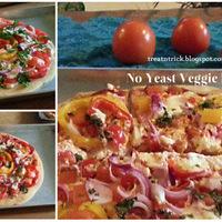 NO YEAST VEGGIE PIZZA RECIPE