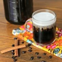 Cold Brewed Vanilla Iced Coffee