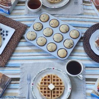 Celebrating National Breakfast Month with #Krusteaz and a giveaway