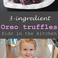 Kids in the kitchen: Oreo Truffles