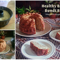 HEALTHY BANANA BUNDT BREAD RECIPE