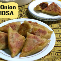MINI ONION SAMOSA RECIPE