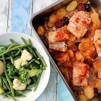 Cod & Chorizo Traybake #PowerOfFrozen