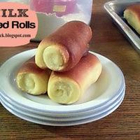 MILK BREAD ROLLS RECIPE