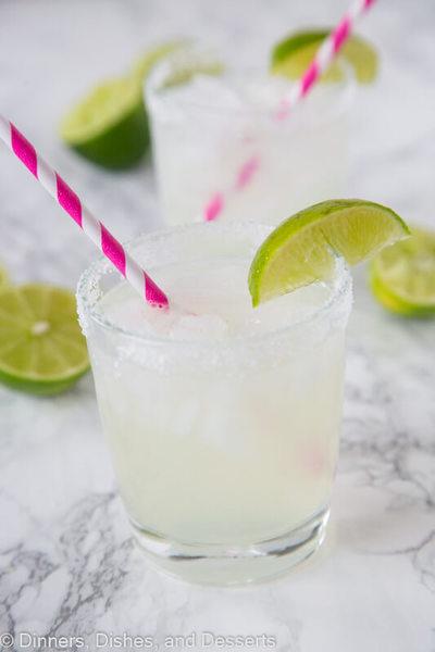 how to make a margarita on the rocks