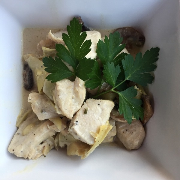 Chicken Dijon with Mushrooms and Artichokes Recipe by Leslie ...