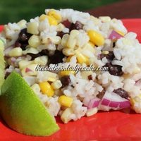 LIME RICE, BLACK BEAN AND CORN SALAD