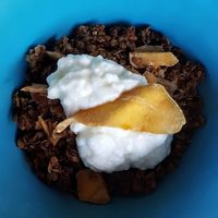 Chinese Five-Spice Granola with Mango
