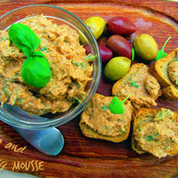 Tuna and herring mousse