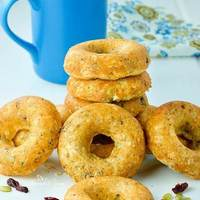 Baked Oatmeal Donuts For Breakfast