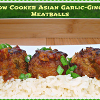 Slow Cooker Comfort Food #SundaySupper...Featuring Slow Cooker Asian Garlic-Ginger Meatballs #meatballs