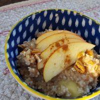 Apple Pie Steel-Cut Oatmeal