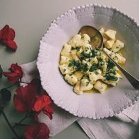 Ricotta Gnocchi in Lemon Butter Sauce
