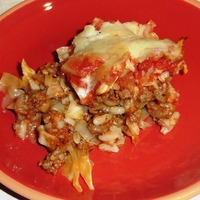 Inside Out Cabbage Roll Casserole