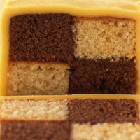 Chocolate- Orange Battenburg