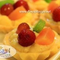 Mini Fruit Tart Recipe, an ideal dessert for Christmas party