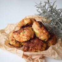 Chicken meatballs with zucchini