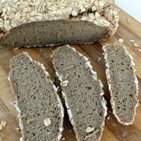 Recipe For Pure Rye Sourdough Bread