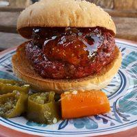 Jalapeno Jelly Bacon Burgers