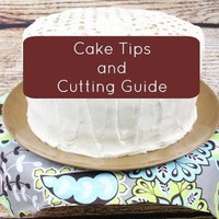 Cake Tips and Cake Cutting Guide