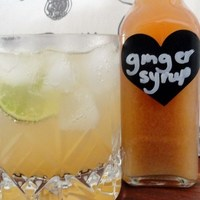 Recipe For Ginger Syrup With Fresh Mint